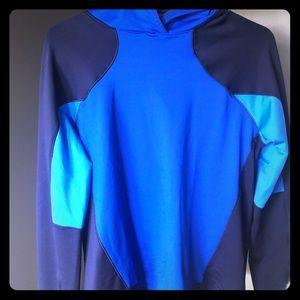 Under armour blue hoodie